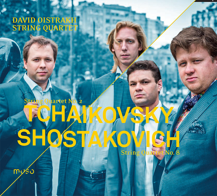 CD Cover: Tchaikovsky - Shostakovich - String Quartet No. 8
